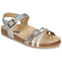Schoenen Meisjes Sandalen / Open schoenen GBB PANORA Zilver