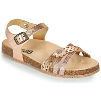 Schoenen Meisjes Sandalen / Open schoenen GBB PANORA Goud