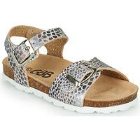 Schoenen Meisjes Sandalen / Open schoenen GBB PIPPA Zilver