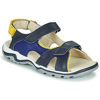 Schoenen Jongens Sandalen / Open schoenen GBB DIMOU Blauw