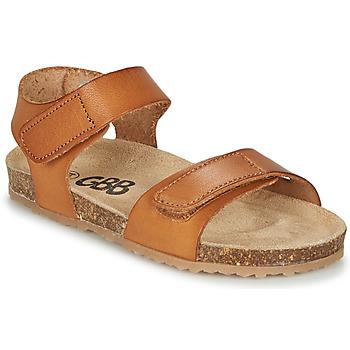 Schoenen Jongens Sandalen / Open schoenen GBB KIPILO Brown