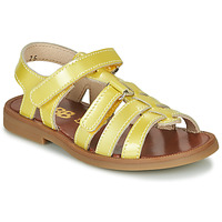 Schoenen Meisjes Sandalen / Open schoenen GBB KATAGAMI Geel