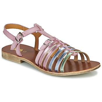 Schoenen Meisjes Sandalen / Open schoenen GBB BANGKOK Roze