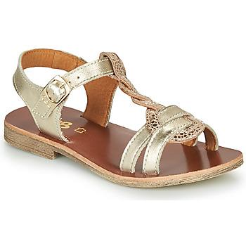 Schoenen Meisjes Sandalen / Open schoenen GBB EUGENA Goud