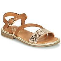 Schoenen Meisjes Sandalen / Open schoenen GBB FANA Brown