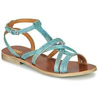 Schoenen Meisjes Sandalen / Open schoenen GBB JULIA Blauw
