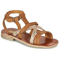 Schoenen Meisjes Sandalen / Open schoenen GBB JULIA Brown