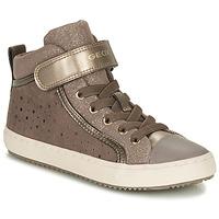 Schoenen Meisjes Lage sneakers Geox KALISPERE Beige