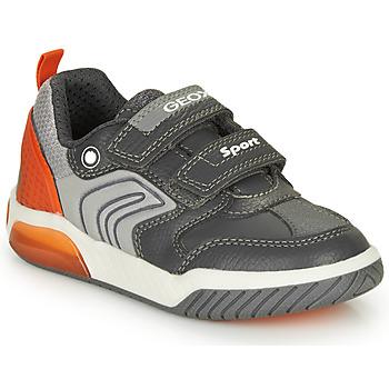 Schoenen Jongens Lage sneakers Geox INEK BOY Grijs