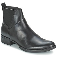 Schoenen Dames Laarzen Geox MENDI ST D Zwart
