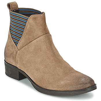 Schoenen Dames Laarzen Geox MENDI ST D Beige