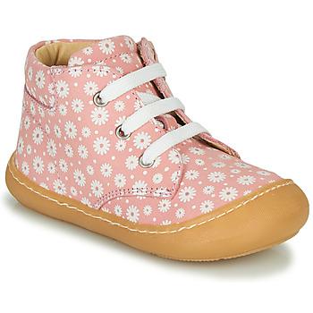 Schoenen Meisjes Hoge sneakers GBB ATARINA Roze