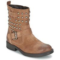 Schoenen Meisjes Hoge laarzen Geox SOFIA C Brown