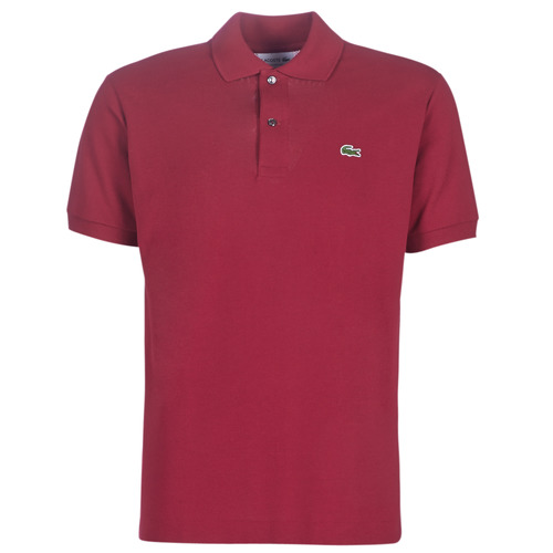 Textiel Heren Polo's korte mouwen Lacoste POLO L12 12 REGULAR Bordeaux