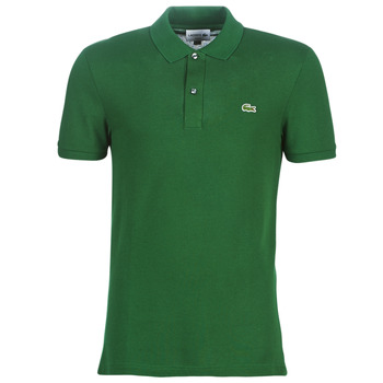 Textiel Heren Polo's korte mouwen Lacoste PH4012 SLIM Groen