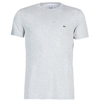 Textiel Heren T-shirts korte mouwen Lacoste TH6709 Grijs