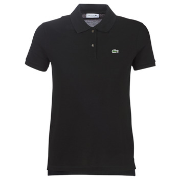Textiel Dames Polo's korte mouwen Lacoste PF7839 Zwart
