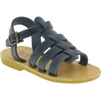 Schoenen Jongens Sandalen / Open schoenen Attica Sandals PERSEPHONE NUBUCK BLUE blu