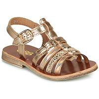 Schoenen Meisjes Sandalen / Open schoenen GBB BANGKOK Roze / Gold