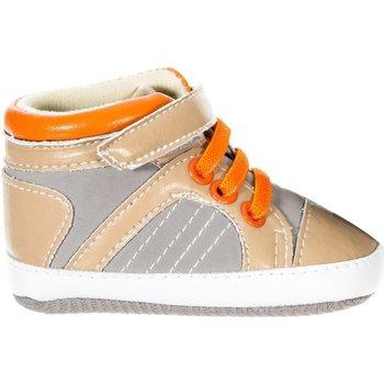 Schoenen Kinderen Babyslofjes Le Petit Garçon Baskets Grijs