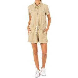 Textiel Dames Jumpsuites / Tuinbroeken La Martina Bavette courte Beige