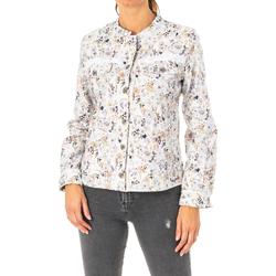 Textiel Dames Wind jackets La Martina Veste m / long Multicolour