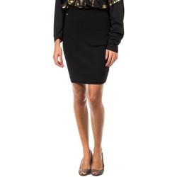 Textiel Dames Rokken Met jupe en tricot Zwart