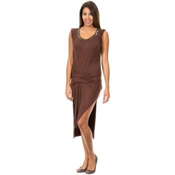 Textiel Dames Korte jurken Met Largeurs sundress Brown