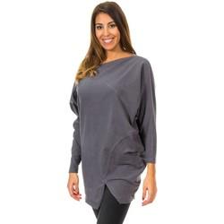 Textiel Dames Truien Met Murcielago Jersey Grijs