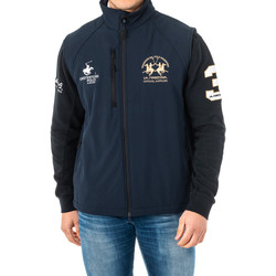 Textiel Heren Wind jackets La Martina Gilet Blauw