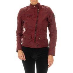 Textiel Dames Leren jas / kunstleren jas Belstaff Veste  Bradshaw WC6 Rood