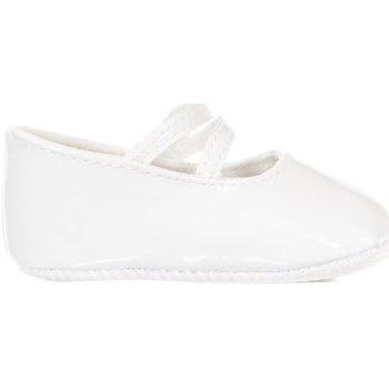 Schoenen Meisjes Babyslofjes Le Petit Garçon Chaussures Wit