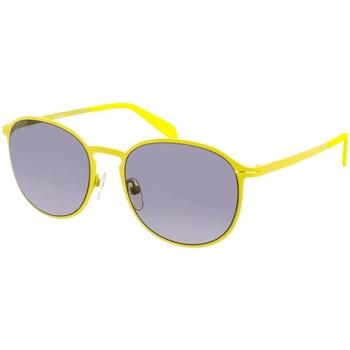 Horloges & Sieraden Dames Zonnebrillen Calvin Klein Jeans Lunettes de soleil Calvin Klein Geel