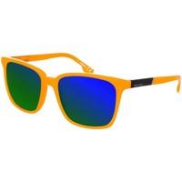 Horloges & Sieraden Heren Zonnebrillen Diesel Sunglasses Lunettes de soleil Diesel Orange