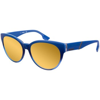 Horloges & Sieraden Dames Zonnebrillen Diesel Sunglasses Lunettes de soleil Diesel Blauw