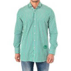 Textiel Heren Overhemden lange mouwen La Martina Chemise M / Long Multicolour