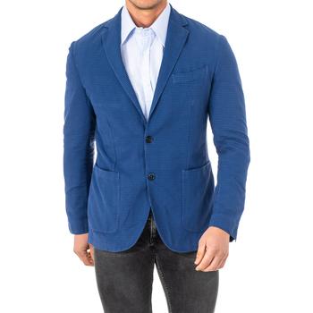 Textiel Heren Jasjes / Blazers La Martina américain Blauw