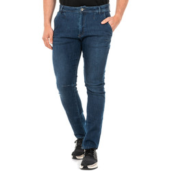 Textiel Heren Straight jeans La Martina Jeans Blauw