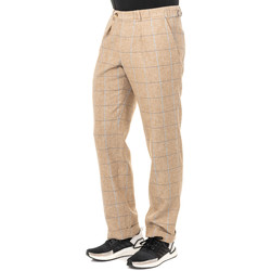 Textiel Heren Broeken / Pantalons La Martina Pantalon Brown