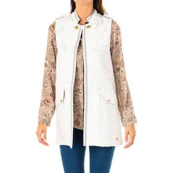 Textiel Dames Jasjes / Blazers La Martina Gilet Zilver