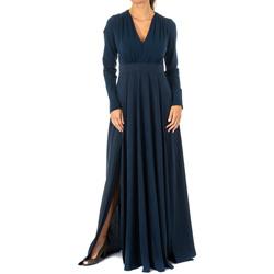 Textiel Dames Lange jurken La Martina Robe Blauw