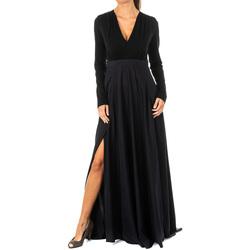 Textiel Dames Lange jurken La Martina Robe Zwart