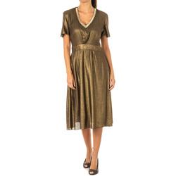 Textiel Dames Korte jurken La Martina Robe Brown