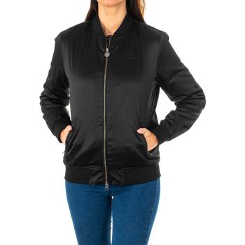Textiel Dames Wind jackets La Martina Veste m / long Zwart