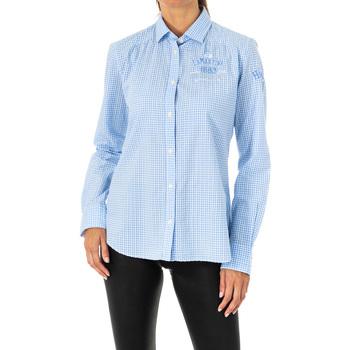 Textiel Dames Overhemden La Martina Chemise à manches longues Multicolour