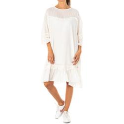 Textiel Dames Korte jurken La Martina Robe Wit