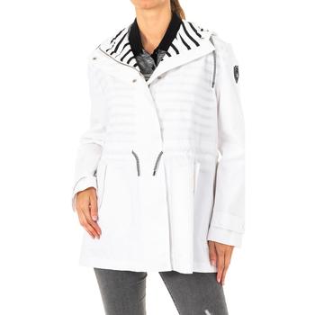 Textiel Dames Mantel jassen La Martina Veste m / long Wit