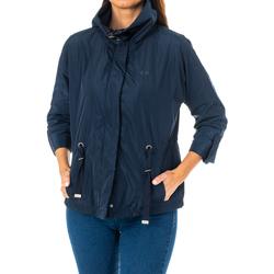 Textiel Dames Wind jackets La Martina Veste m / long Blauw