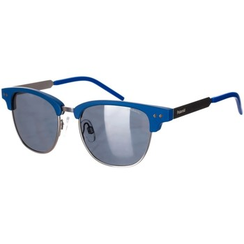 Horloges & Sieraden Heren Zonnebrillen Polaroid Lunettes de soleil Blauw