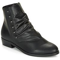 Schoenen Dames Laarzen André ELIPSE Zwart